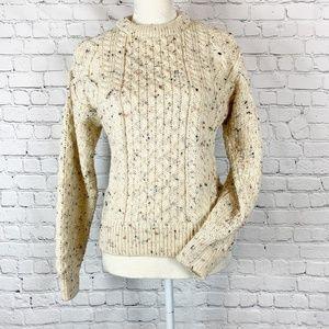Aran Sweater Market Wool Fisherman Sweater Ireland